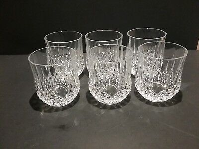 Crystal D'Arques Old Fashion Rock Glasses Set of 6