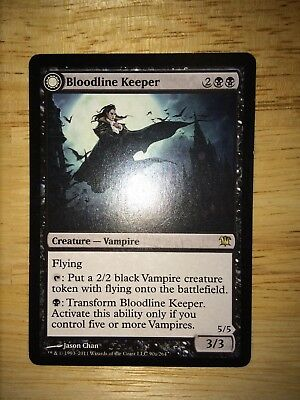 Bloodline Keeper/Lord of Lineage Innistrad MTG Rare Near Mint