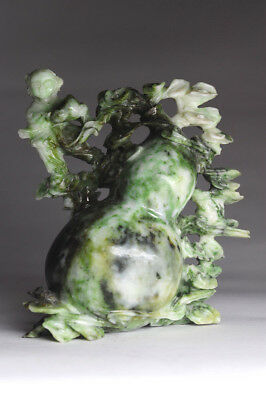 Alte Steinschnitzerei China antique Jade? Drache Dragon Chinese Stone carving