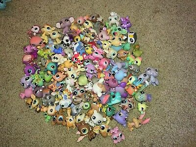 Littlest Pet Shop Lot of 3 RANDOM Surprise Pets Slightly Blemished