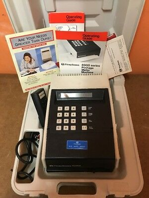 Pitney Bowes RMRS 6900 Franking Machine - in good condition with original box
