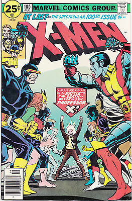X-MEN 100 - NEW TEAM vs OLD TEAM (BRONZE AGE 1976) - 8.5