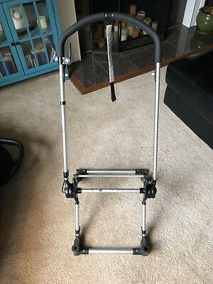 Bugaboo Frog Stroller Chassis Frame - Very Good, Tested brakes work foam handle