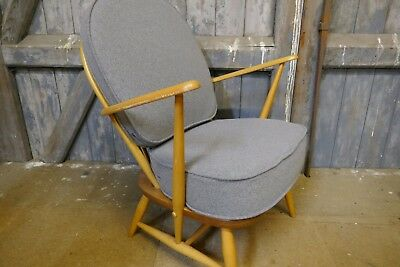 Cushions & Covers Only. Ercol 305 Chair. Garfield Grey