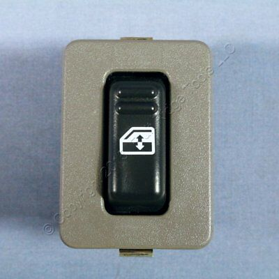 New GM OEM Pewter Gray Bezel and Rear Window Control Door Switch 15075130