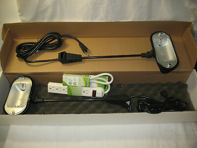 2x 200w Halogen Spot Lights For Trade Show Display Booth