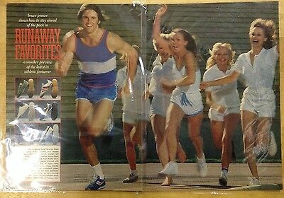 Vintage, Bruce Jenner print advertising - double-page ad - from 1978 Playboy mag