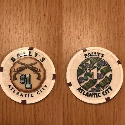 Bally's Atlantic City Casino Park Place 1$ Chip Mint Condition!!!!