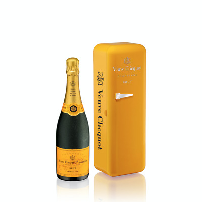 Veuve Clicquot Yellow Label Champagne Special Gift Case