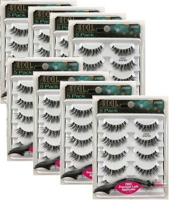 "Ardell DEMI WISPIES 5 pairs + FREE Precision Lash Applicator ""CHOOSE QUANTITY"""