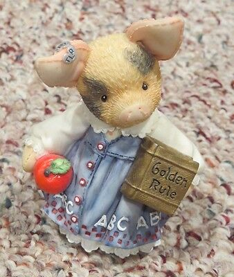 Enesco This Little Piggy 167630 Learning is Never a Boar with You Teacher Girl