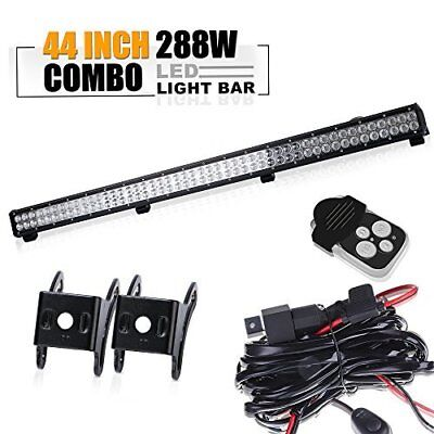 44'' Led Light Bar Fit For ATV XP1000 XP900 800s RZR RZR4 Side By X Polaris