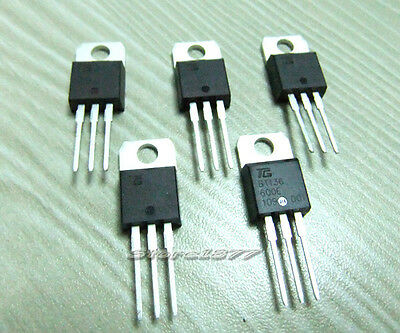 5pcs BT136 BT136-600 BT136-600E Triac Thyristor 600V