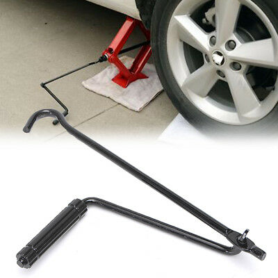 Car Tire Wheel Jack Lug Handle Stand Crank Scissor Speed Wrench Repair Accessory