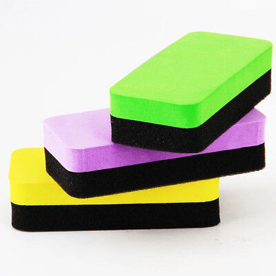 New Whiteboard Magnetic Eraser Drywipe Marker Cleaner School Cleaning Supplies