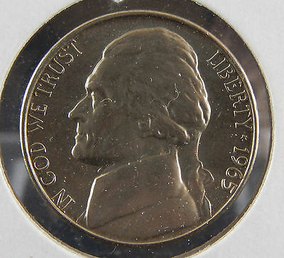 1965 USA Jefferson Nickel Coin SB3546