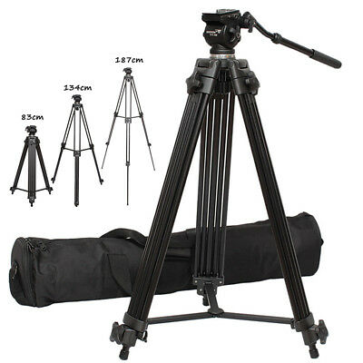 Professional 1.8m WeiFeng WF-717 Heavy Duty Video Camcorder Tripod For Camera