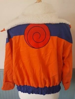 Naruto Uzumaki Cosplay Costume Jacket Size XL 42-46
