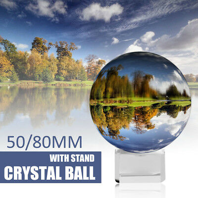 K9 Clear Crystal Paper Photography Lens Ball Photo Prop Background Decor /Holder