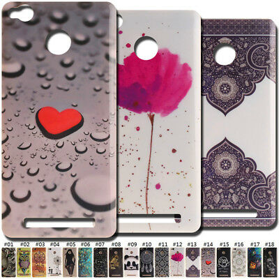 Cute Painted Gel Rubber Case Skin Silicone Back Soft TPU Cover Shell For Xiaomi