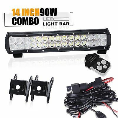 14.5'' Led Light Bar Fit For ATV XP1000 XP900 800s RZR RZR4 Side By X Polaris