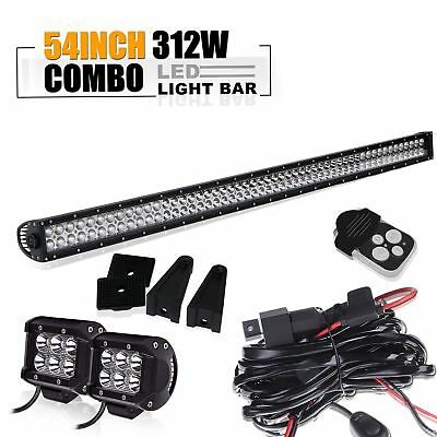 54'' Led Light Bar Fit For ATV XP1000 XP900 800s RZR RZR4 Side By X Polaris