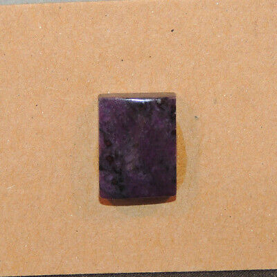 Sugilite Cabochon 15x11mm with 4mm dome from South Africa (13272)