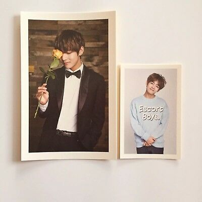 BTS, Taehyung V 2nd Army Kit Official Photocard + Postcard Set