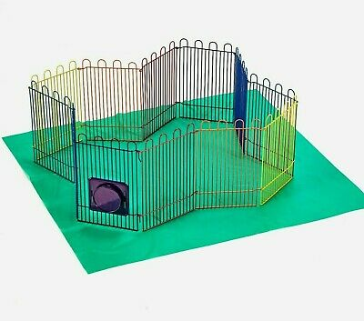 Small Pet Guinea Pig Mice Hamsters Chinchilla Exercise Playpen Panel Gerbils