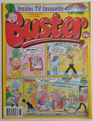 BUSTER COMIC - 9th December 1994