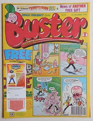 BUSTER COMIC - 8th December 1995