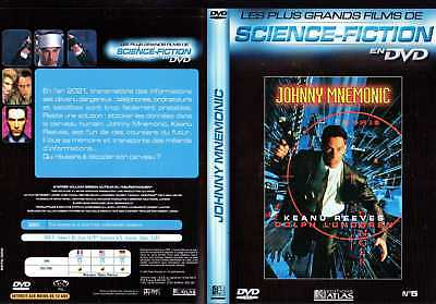 DVD Johnny Mnemonic | Keanu Reeves | SF - fantastique | Lemaus