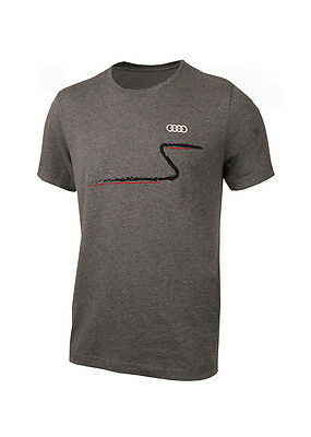 AUDI COLLECTION quattro S Curve T-Shirt - Makes a GREAT Gift - 2 XL