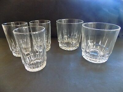 Arcoroc France LANCER 2 Rocks / Old Fashioned  + 3 Juice Glasses