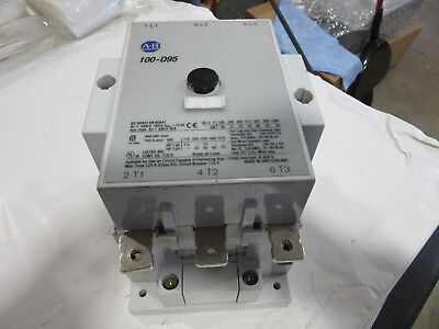 Allen Bradley 100-D95 Contactor 3P 160A 120V Coil GC!!! with Free Shipping
