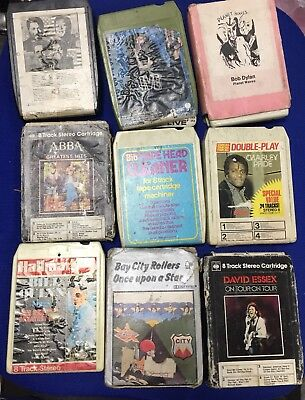 8 Track Car Stereo And Tapes