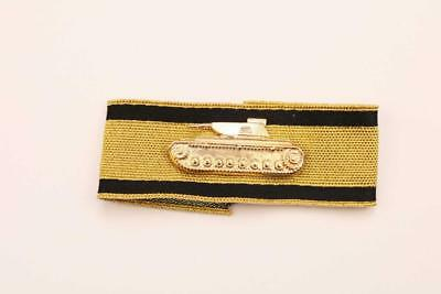Ww2 German Army Tank Destroyer Award Insignia Gold Braid Wool Sleeve Patch X 1