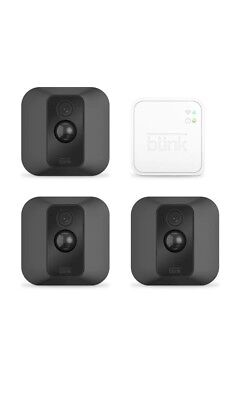 Blink XT Home Security Camera System Indoor/Outdoor for Your Smartphone with HD