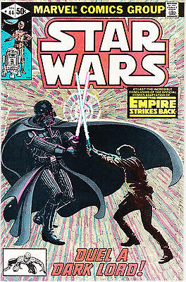 Star Wars 44 - Darth Vader Reveals He Is Lukes Father (Bronze Age 1980) - 9.0