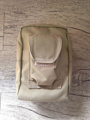 TACTICAL TAILOR ZIPPER UTILITY POUCH COYOTE BROWN eagle allied khaki mlcs issue