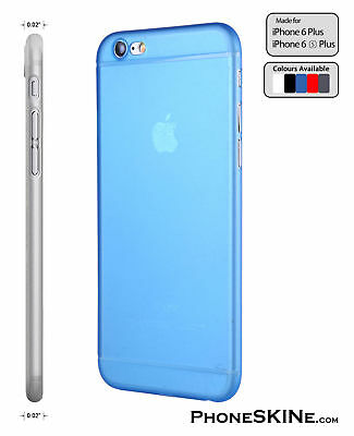 """iPhone 6+ / 6S+ BLUE Apple iPhone Case PhoneSKINe 0.02"""" Ultra thin perfect fit"""