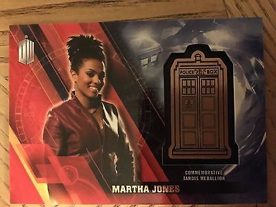 Topps Doctor Who Timeless 2016 Bronze Medallion Card Martha Jones 125/150