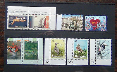 Slovenia 1995 1996 Europa 1996 Greetings 2009 Bus Line MNH