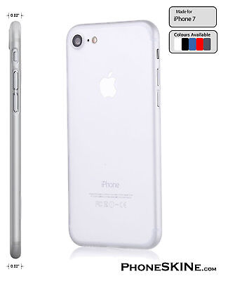 """iPhone 7 CLEAR Apple PhoneSKINe iPhone hard case 0.02"""" Ultra thin perfect fit"""