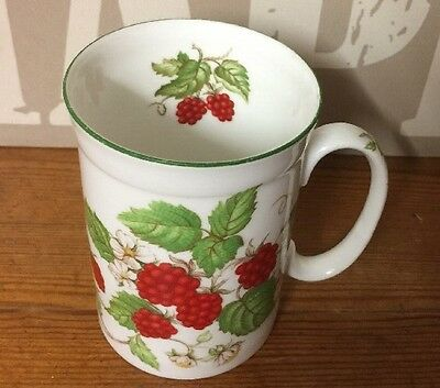 Roy Kirkham Fruit Garden Collection Raspberry Fine China Small Coffee Mug