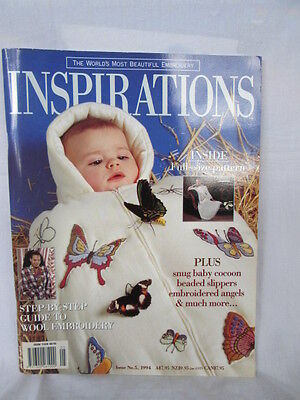 Inspirations magazine (embroidery etc) Issue No 5