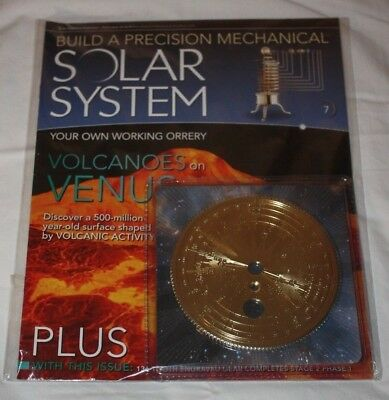 Eaglemoss Build a Precision Mechanical Solar System - Issue 7 - NEW & SEALED