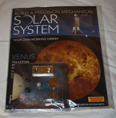 Eaglemoss Build a Precision Mechanical Solar System - Issue 6 - NEW & SEALED