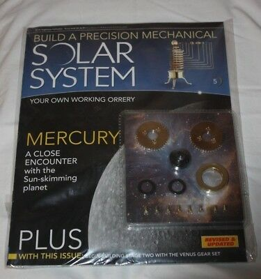Eaglemoss Build a Precision Mechanical Solar System - Issue 5 - NEW & SEALED
