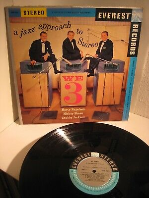 We 3 -  A Jazz Approach to Stereo - Jackson/Sheen/Napoleon Vinyl LP Everest nm